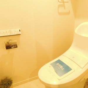 イトーピア渋谷桜ヶ丘(5階,)のトイレ