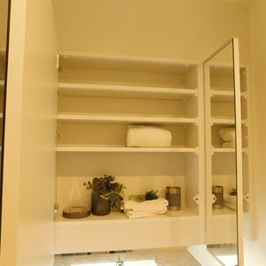 クレッセント目黒3(4階,5580万円)の化粧室・脱衣所・洗面室