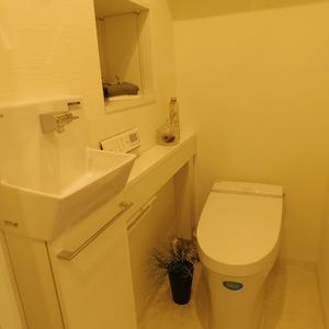 クレッセント目黒3(4階,5580万円)のトイレ