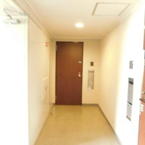 ファミール久堅(6階,8780万円)のフロア廊下(エレベーター降りてからお部屋まで)