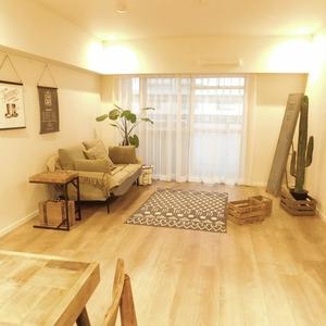 ニュータウンオークボ(14階,4497万円)の居間(リビング・ダイニング・キッチン)