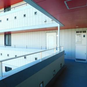 ナビウス目黒(7階,)のフロア廊下(エレベーター降りてからお部屋まで)