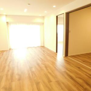 目黒グランドマンション(3階,5180万円)の居間(リビング・ダイニング・キッチン)