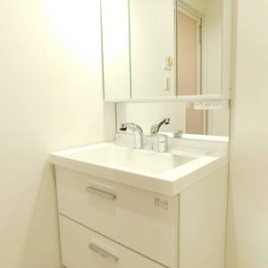 パラスト下目黒(9階,5080万円)の化粧室・脱衣所・洗面室