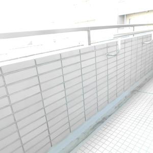 藤和目黒ホームズ(3階,7490万円)のバルコニー