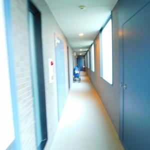 ティアラ目白アベニュー(1階,3180万円)のフロア廊下(エレベーター降りてからお部屋まで)