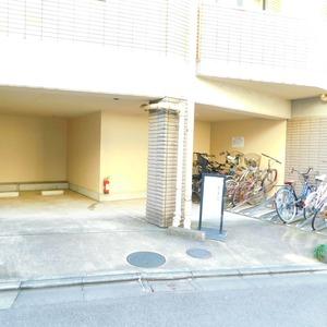 ジェイパーク渋谷東の駐輪場