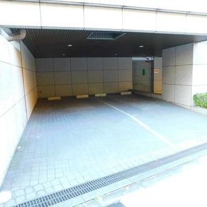 藤和渋谷常磐松ホームズの駐車場