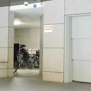 藤和渋谷常磐松ホームズの駐輪場