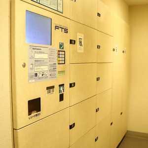クレストフォルム上野の杜のエレベーターホール、エレベーター内