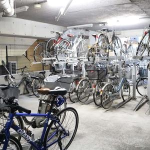 ドラゴンマンション上野壱番館の駐輪場