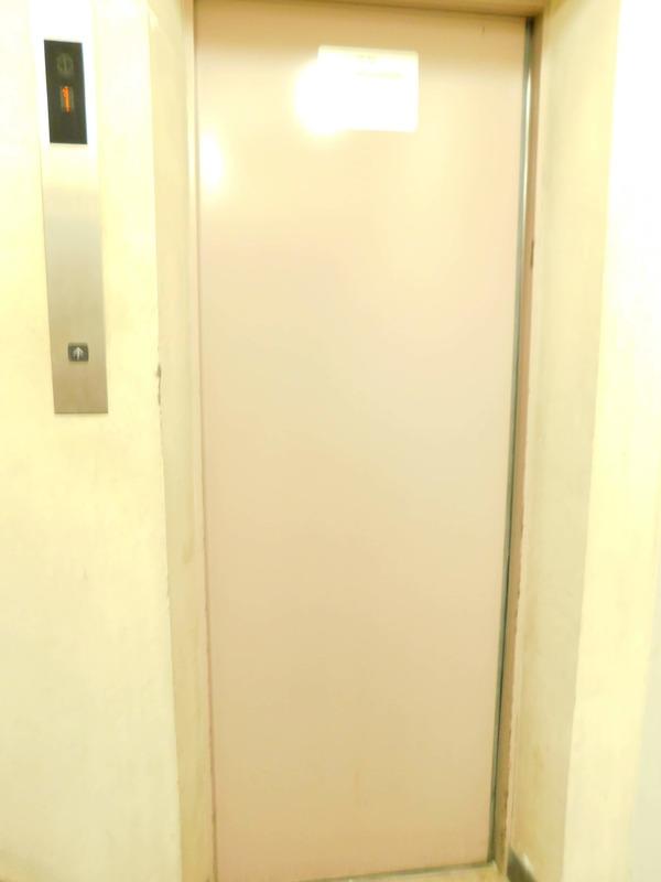 オリエンタル新大塚コーポラスのエレベーターホール、エレベーター内1枚目