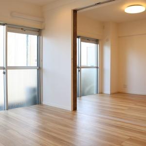 中銀東上野マンシオン(8階,)の居間(リビング・ダイニング・キッチン)