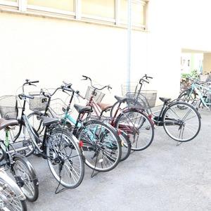 中銀東上野マンシオンの駐輪場
