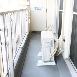 中銀東上野マンシオン(8階,)のバルコニー