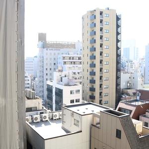 中銀東上野マンシオンのお部屋からの眺望