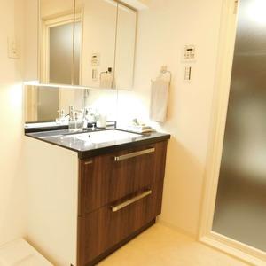 日神パレステージ西麻布(5階,5980万円)の化粧室・脱衣所・洗面室