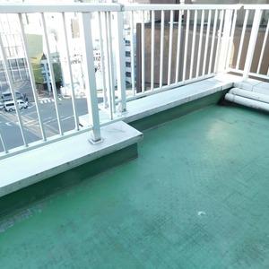 西麻布ハイツ(8階,4280万円)のバルコニー