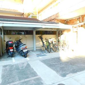 近鉄ハイツ新宿の駐輪場