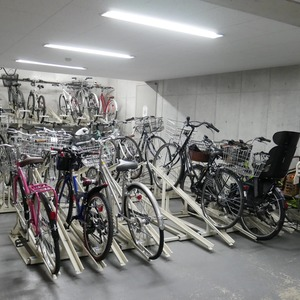 フィールA飯田橋の駐輪場