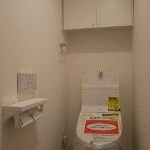 グランドメゾン飯田橋(4階,4499万円)のトイレ