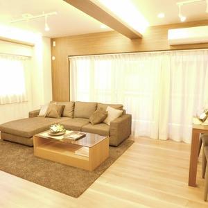 マンション高輪苑(3階,5480万円)の居間(リビング・ダイニング・キッチン)