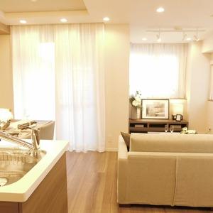 フォルティア文京千石(3階,4980万円)の居間(リビング・ダイニング・キッチン)