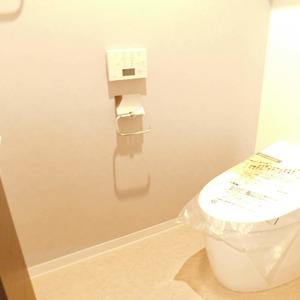 シティタワー九段下(18階,1億680万円)のトイレ