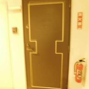 カーネ西早稲田(4階,4290万円)のフロア廊下(エレベーター降りてからお部屋まで)