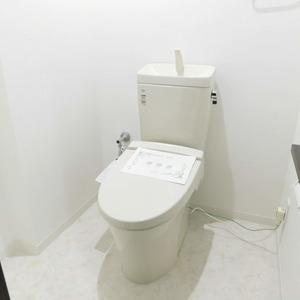 レインボー目白(4階,)のトイレ