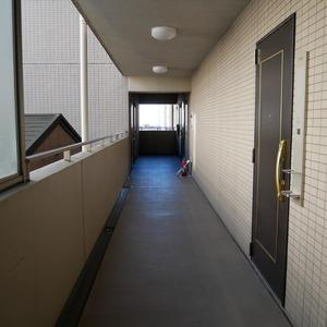 ルピナス台東レジデンス(5階,4499万円)のフロア廊下(エレベーター降りてからお部屋まで)