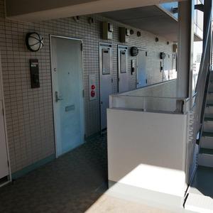 コスモ向島グランコート(7階,)のフロア廊下(エレベーター降りてからお部屋まで)