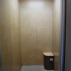 コスモ向島グランコートのエレベーターホール、エレベーター内