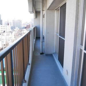 向島ハイツ(8階,)のバルコニー