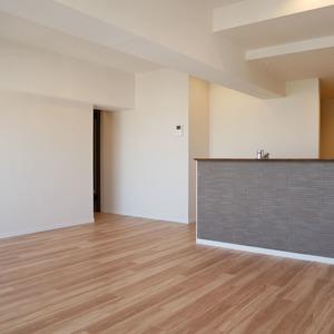 向島ハイツ(8階,)の居間(リビング・ダイニング・キッチン)