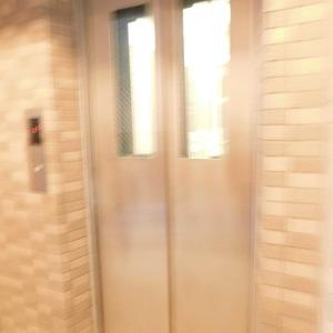セレナハイム小石川西館のエレベーターホール、エレベーター内