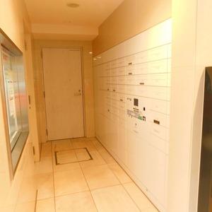 プレシス文京小石川静穏の杜のマンションの入口・エントランス