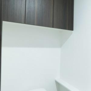 プレシス文京小石川静穏の杜(2階,7680万円)のトイレ