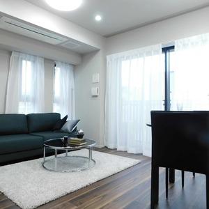 インペリアルガーデン(3階,)の居間(リビング・ダイニング・キッチン)