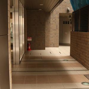 クオリア文京根津のエレベーターホール、エレベーター内