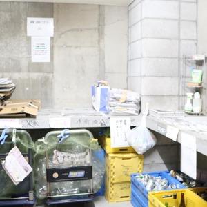 グランドメゾン根津参道のごみ集積場