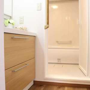 グランドメゾン根津参道(6階,4980万円)の化粧室・脱衣所・洗面室