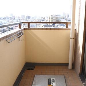 エクレーヌ本駒込(6階,5980万円)のバルコニー