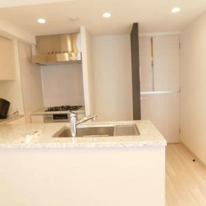 クレヴィア神楽坂(5階,5780万円)のキッチン