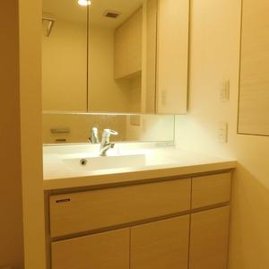 クレヴィア神楽坂(5階,5780万円)の化粧室・脱衣所・洗面室