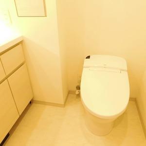 クレヴィア神楽坂(5階,)のトイレ