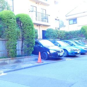 ラフォルム神楽坂の駐車場