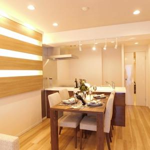 ラフォルム神楽坂(4階,)の居間(リビング・ダイニング・キッチン)