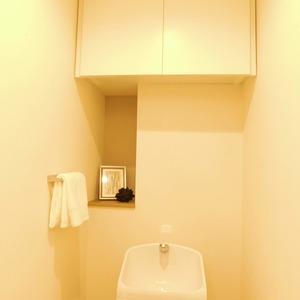 ラフォルム神楽坂(4階,)のトイレ