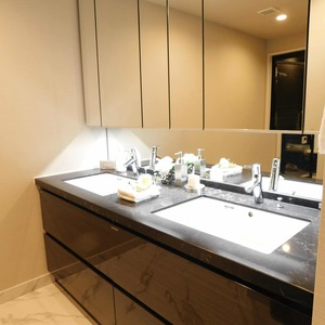 ディアナコート恵比寿(13階,1億9800万円)の化粧室・脱衣所・洗面室